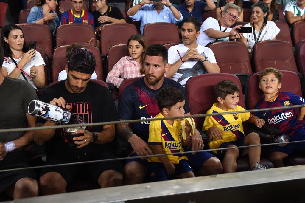 Messi, Suarez