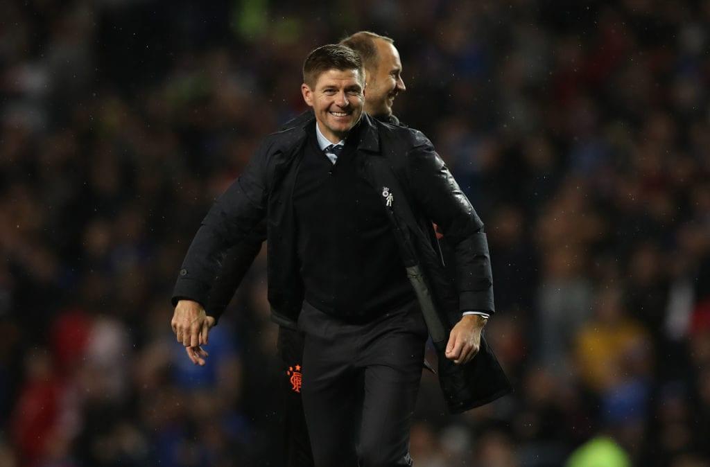 Steven Gerrard, Liverpool, Rangers