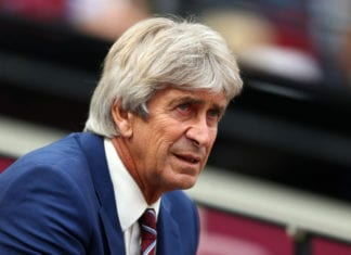 Manuel Pellegrini, West Ham United, Premier League