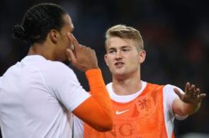 Matthijs de Ligt, Virgil van Dijk, Netherlands, Juventus