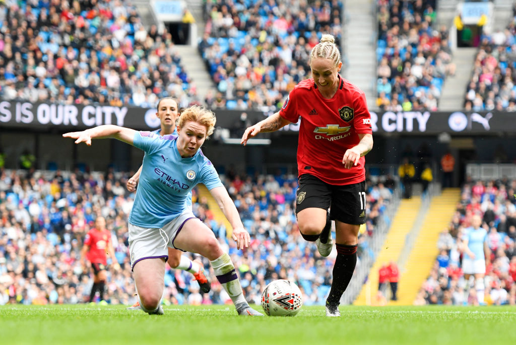 Manchester United, Manchester City, Women's Super League