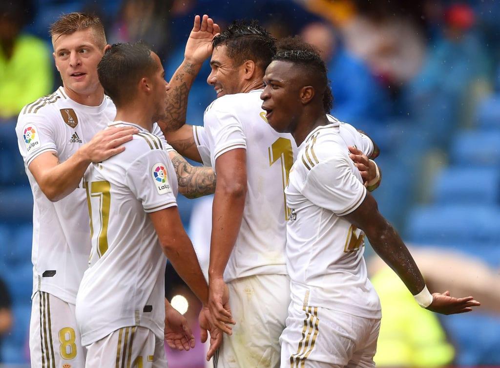 Casemiro, Vinicius Junior, Real Madrid, success