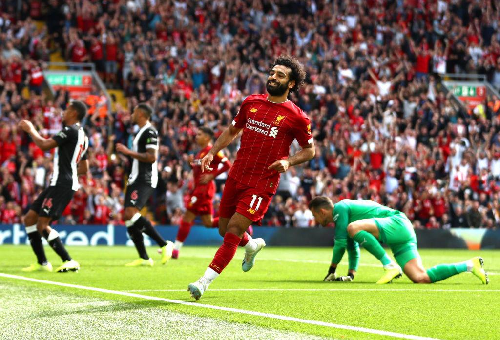 Mohamed Salah, Liverpool, trio