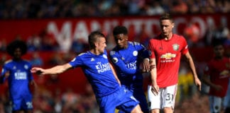 nemanja Matic, manchester united, Leicester City