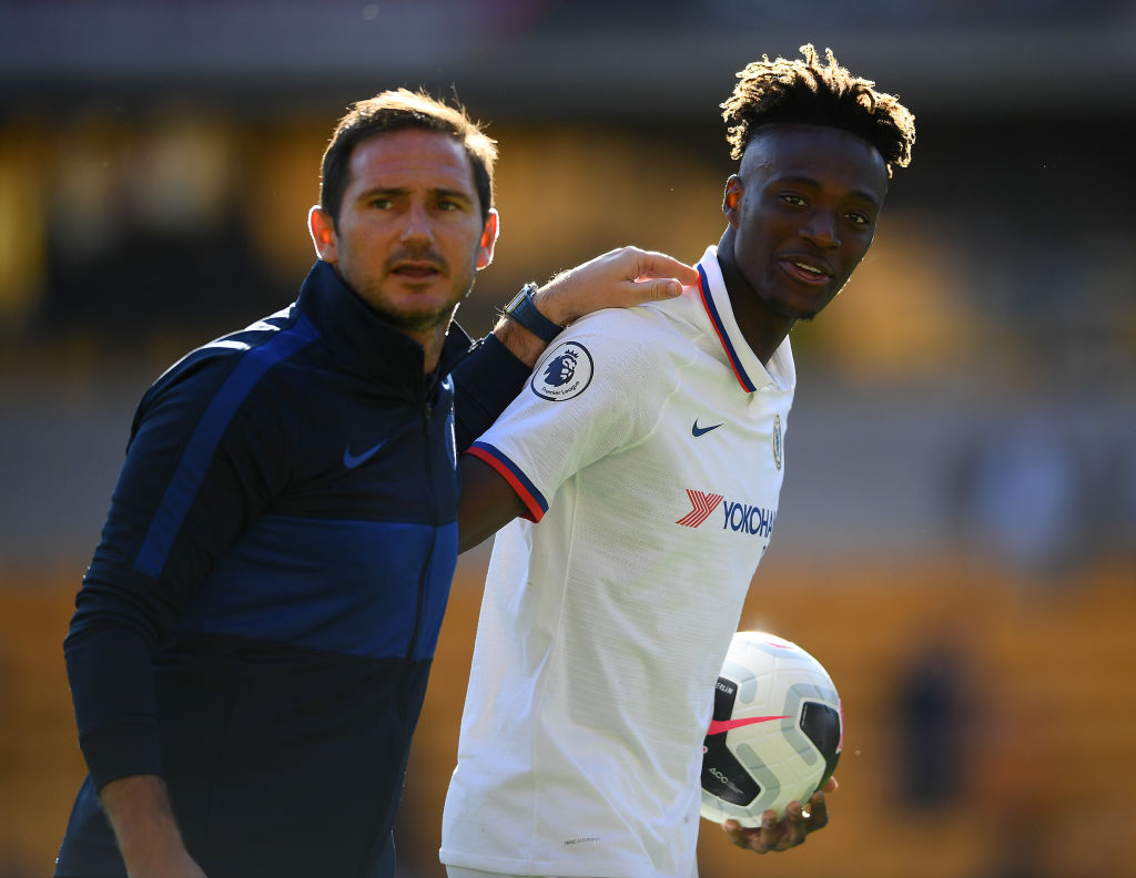 Frank Lampard, Tammy Abraham, Chelsea