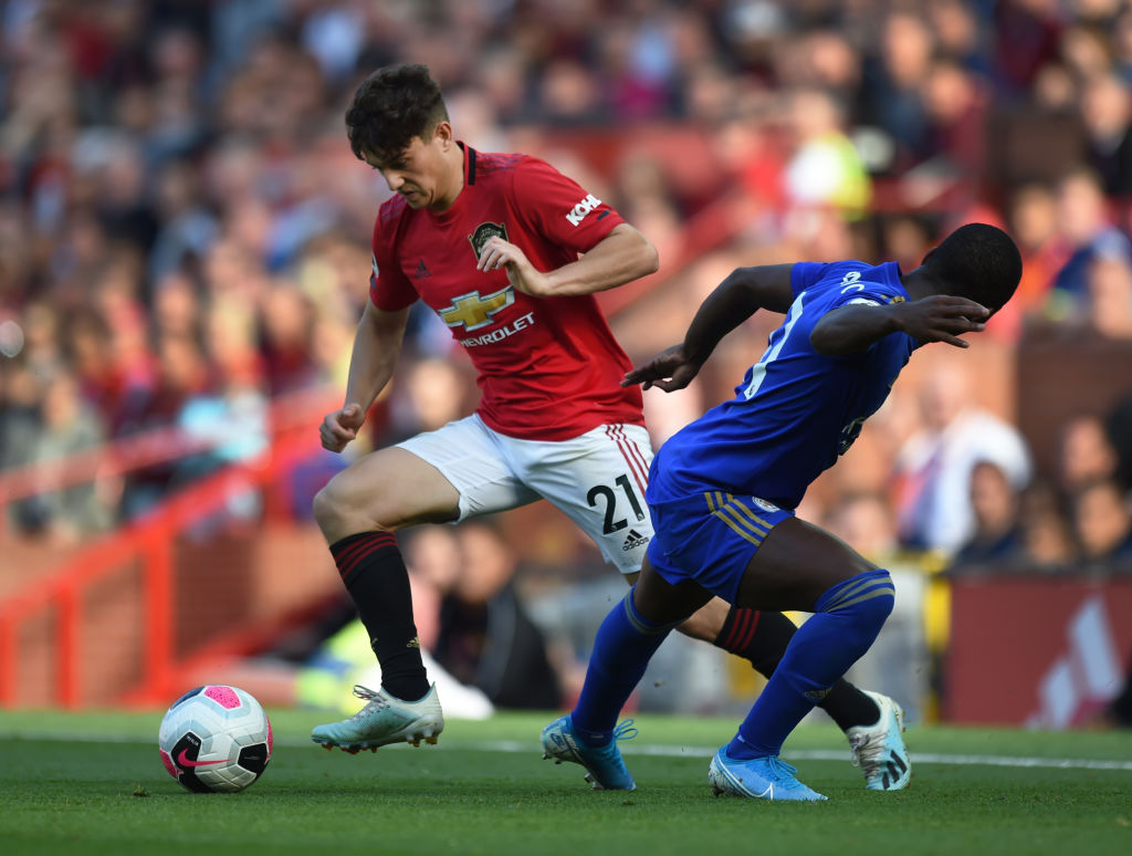 Daniel James, Manchester United, Premier League