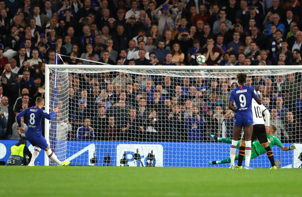 Ross Barkley, Chelsea, UEFA Champions League