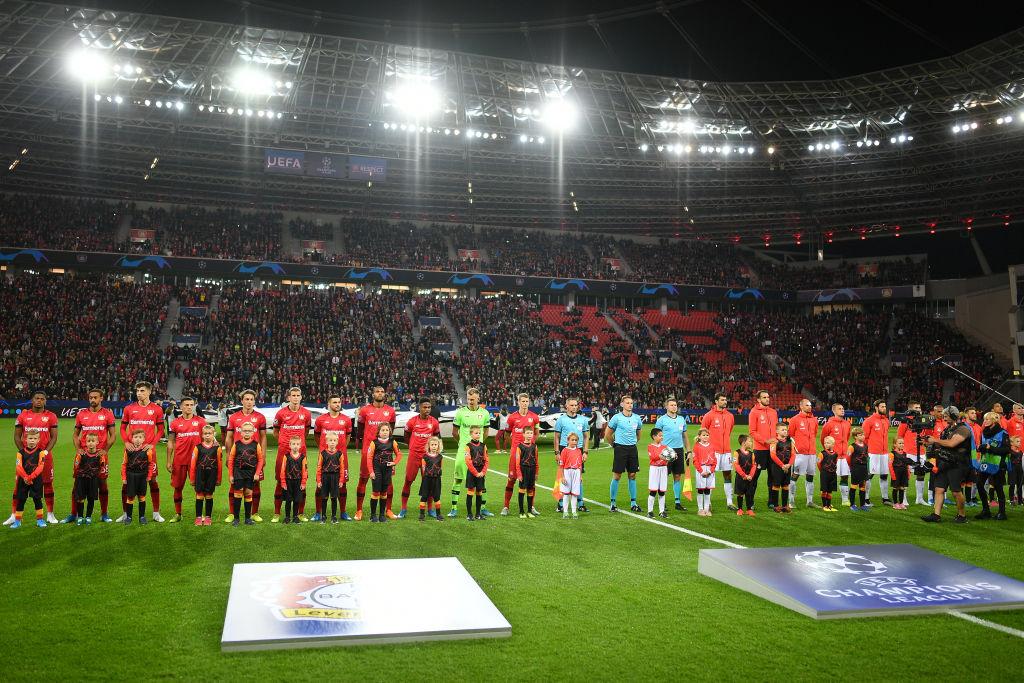 Bayer Leverkusen v Lokomotiv Moskva: Group D - UEFA Champions League