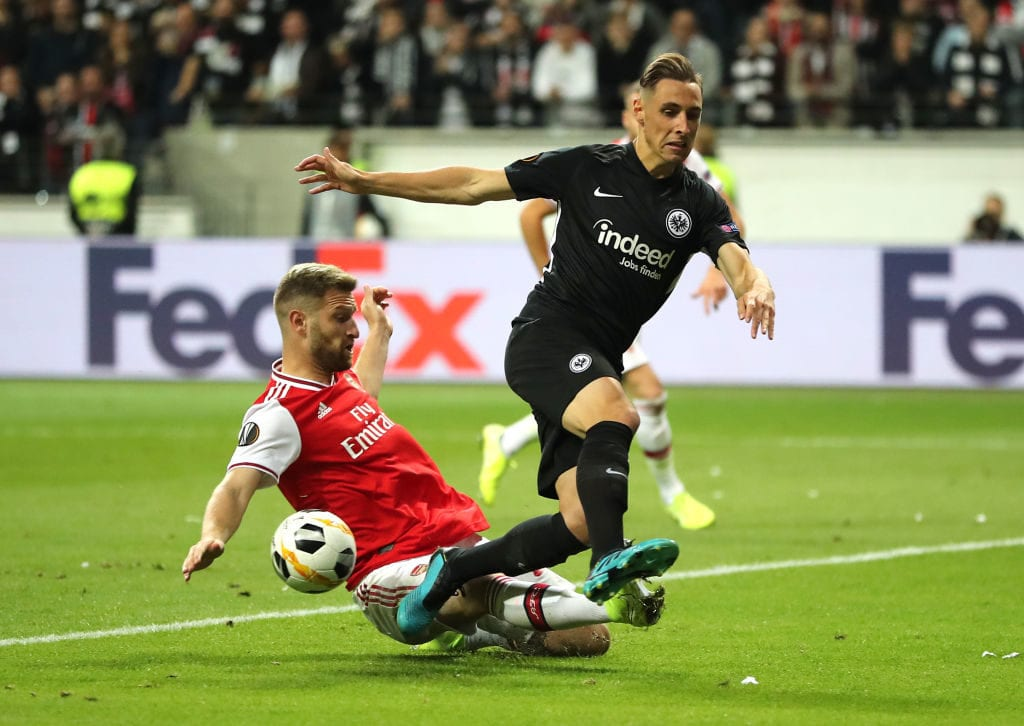 Shkodran Mustafi, Arsenal