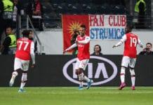 Bukayo Saka, Joe Willock, Arsenal, UEFA Europa League