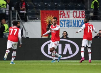 Bukayo Saka, Joe Willock, Arsenal, UEFA Europa League
