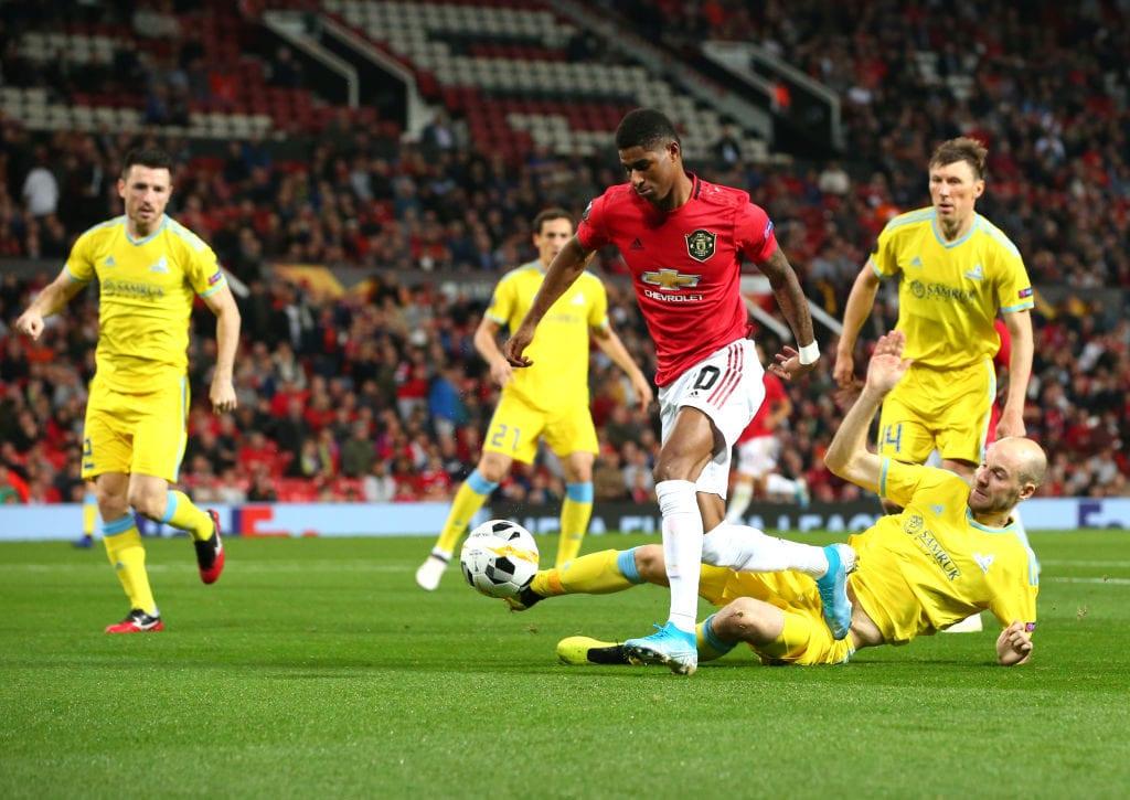 Marcus Rashford, Manchester United, Astana