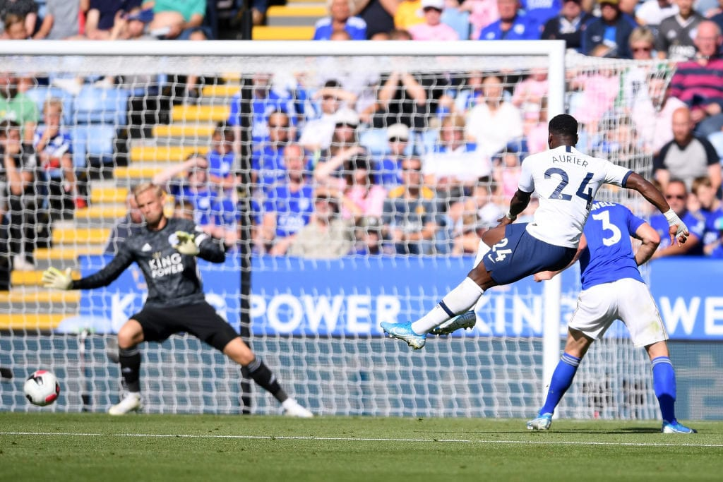 Serge Aurier, Tottenham, Spurs, Leicester City