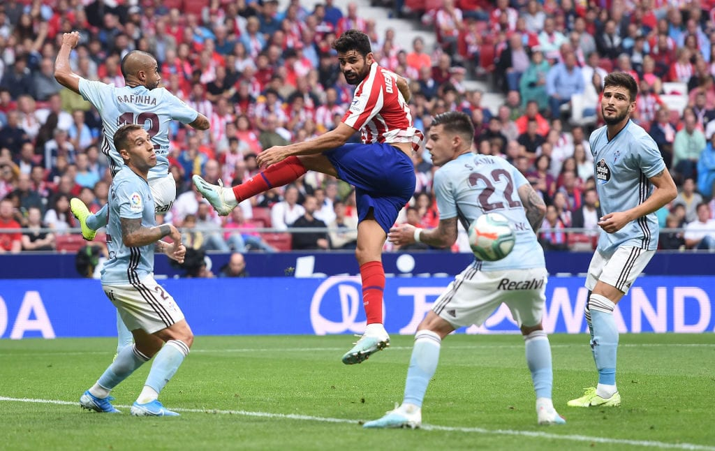 Diego Costa, Atletico Madrid, Diego Simeone, La Liga, Celta Vigo