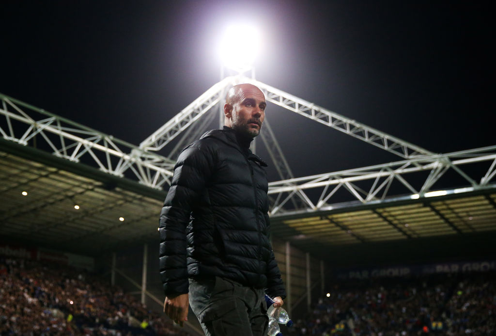 Preston North End v Manchester City - Carabao Cup Third Round