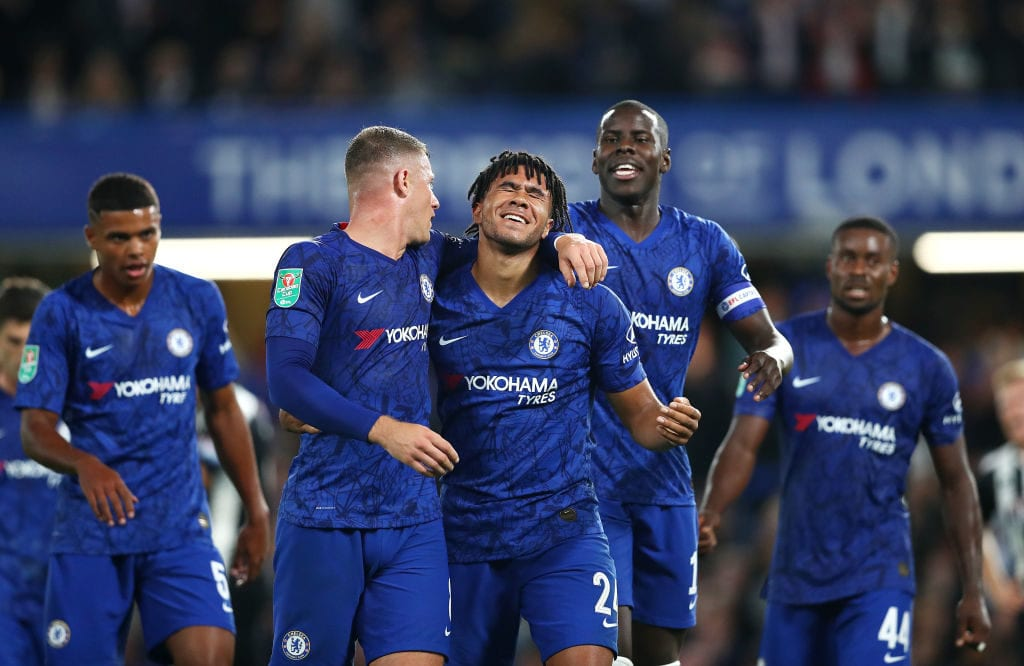Chelsea. Grimsby Town, Carabao Cup