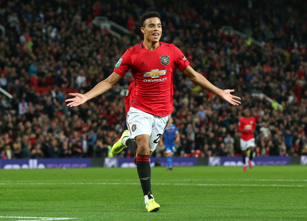 Mason Greenwood, Manchester United, Premier League