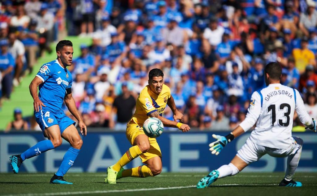Luis Suarez, Barcelona, La Liga, Getafe
