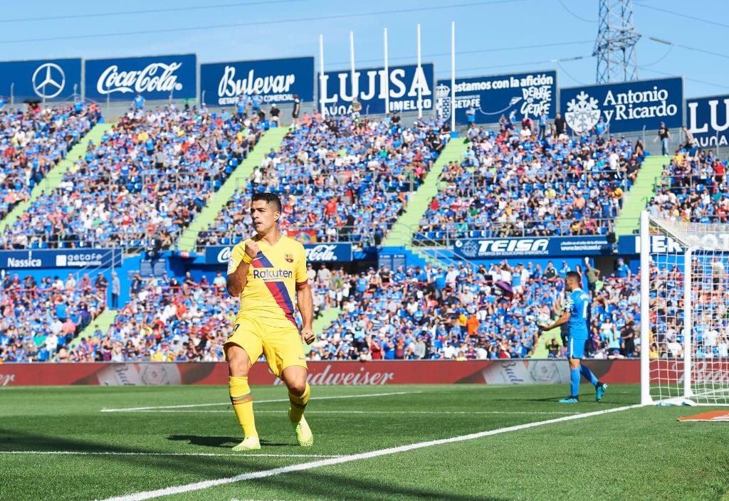Luis Suarez, Barcelona, Getafe