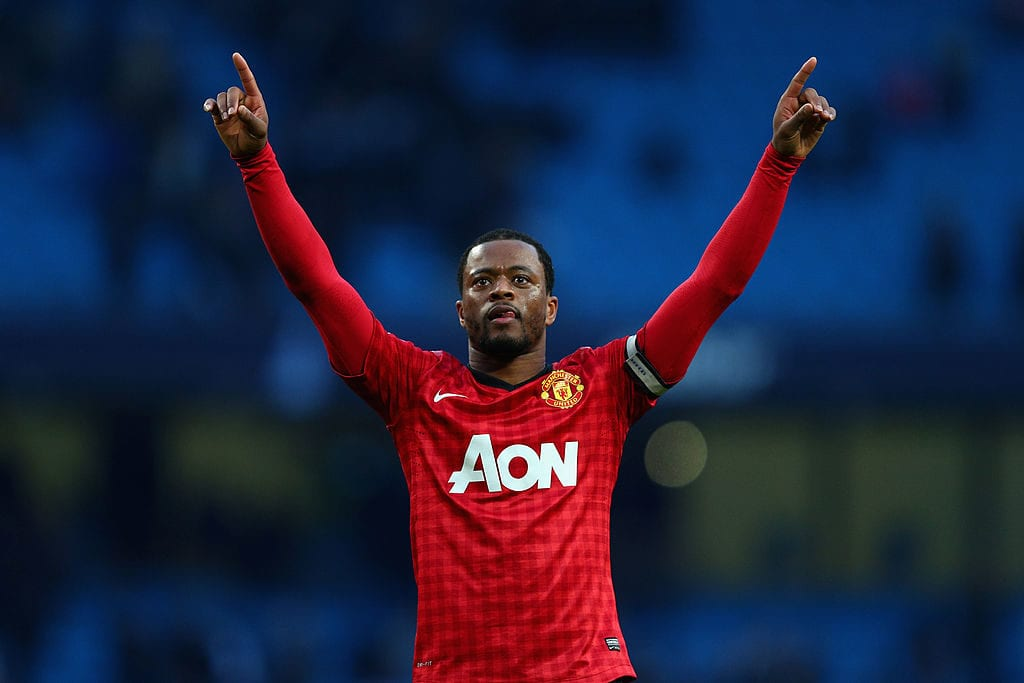 Patrice Evra, Manchester United, premier league