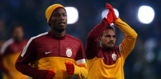 Didier Drogba, Wesley Sneijder, Galatasaray