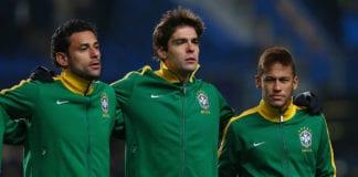 Kaka, Neymar, Brazil, PSG