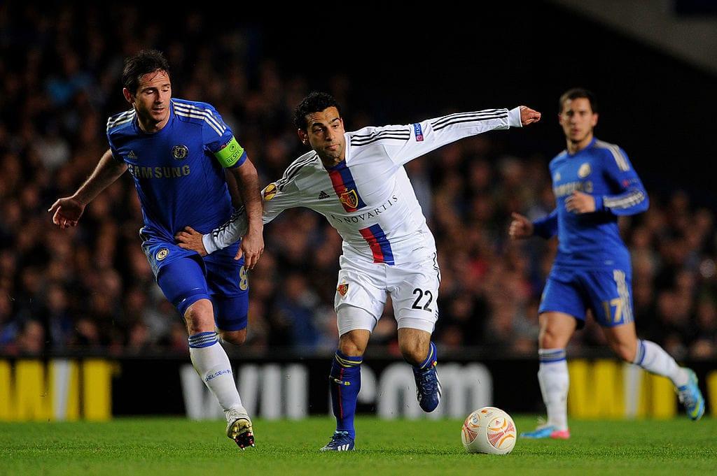 Mohamed Salah, Frank Lampard, Chelsea, FC Basel