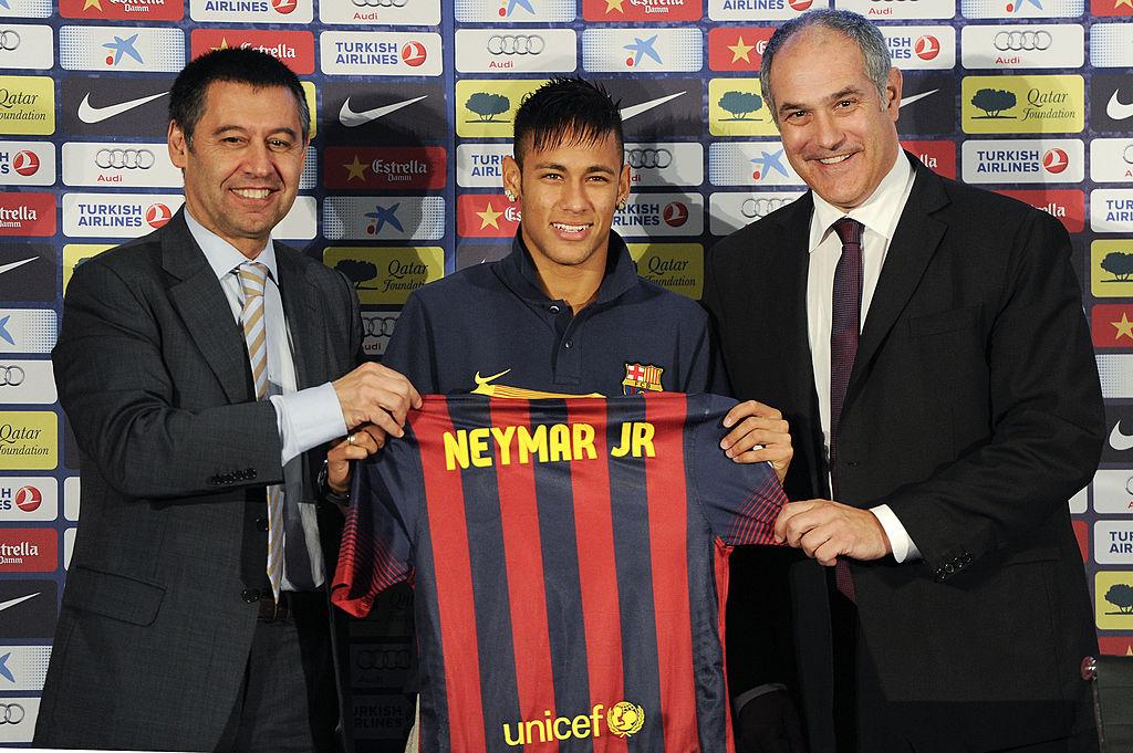 Josep Maria Bartomeu, barcelona, Neymar