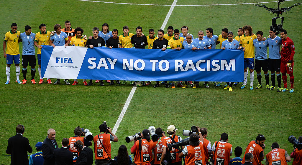 FIFA, say no to racism