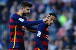 Gerard Pique, Neymar, Barcelona