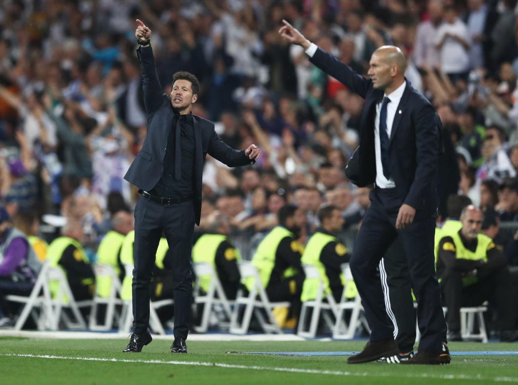 Real Madrid CF v Club Atletico de Madrid - UEFA Champions League Semi Final: First Leg