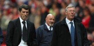 Roy Keane, Alex Ferguson, Manchester United