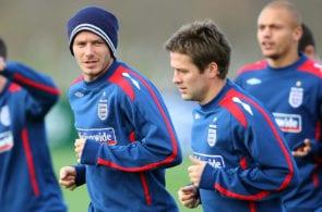 David Beckham, Michael Owen, England