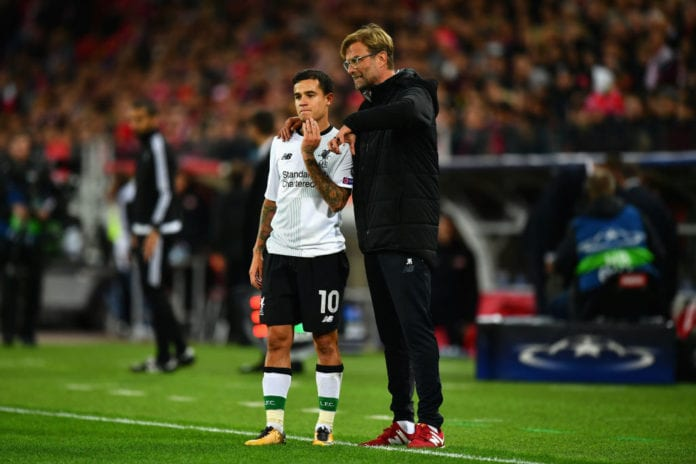 Klopp told Coutinho he was a perfect fit for Bayern Munich