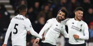Alex Oxlade-Chamberlain, Mohamed Salah, Liverpool