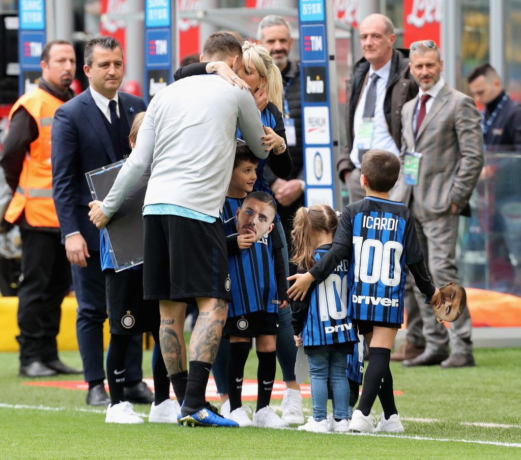 Mauro Icardi, Wanda Nara, Icardi family