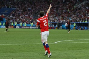 Mario Fernandes, Russia. CSKA Moscow
