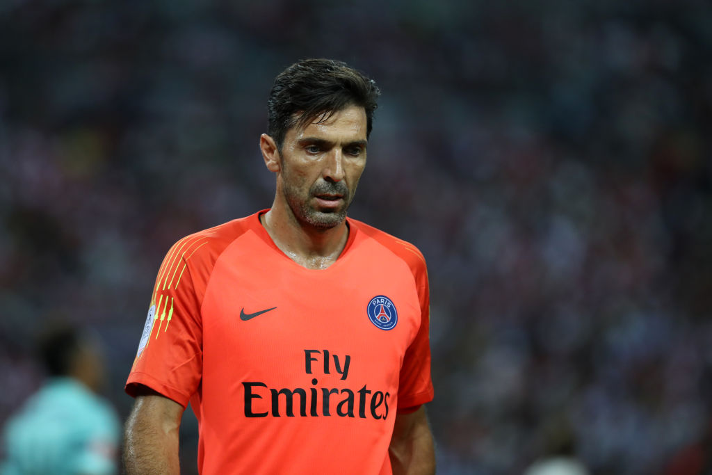 gianluigi buffon, psg