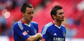 Frank Lampard, John Terry, Chelsea, Premier League