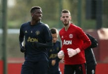 paul pogba, david de gea, manchester united