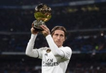 Luka modric, ballon d'or