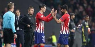 Alvaro Morata, Diego Costa, Atletico Madrid, Diego Simeone, La Liga