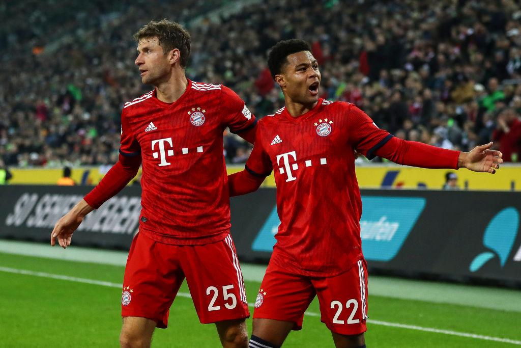 Thomas Muller, Serge Gnabry, Bayern Munich, Bundesliga