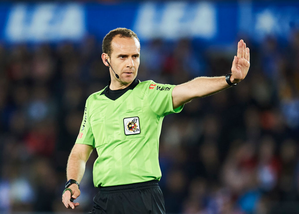Huesca Called Referee Melero U0026quot One Of The Weakest