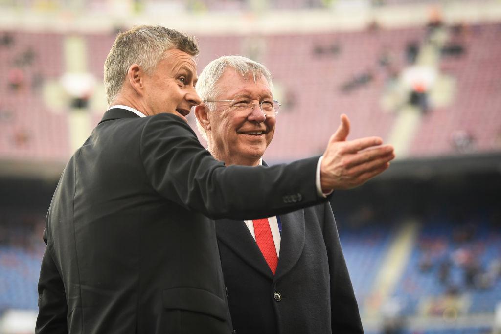 Ole Gunnar solskjaer, Sir Alex ferguson, manchester United