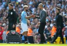 Sergio Aguero, Pep Guardiola, Manchester City, Premier League