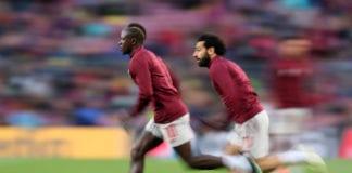 Sadio Mane, Mohamed Salah, Liverpool, Premier League