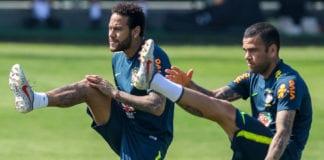 Neymar, Dani Alves, Brazil,