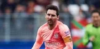 Lionel Messi, FC Barcelona, SD Eibar