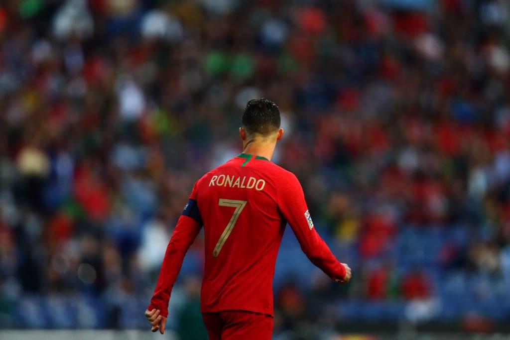 Cristiano Ronaldo, Portugal, Luxembourg, 700 goals, records